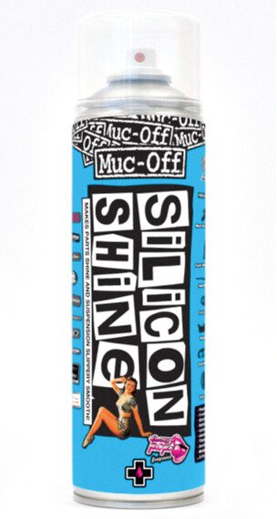 Abrillantador silicona Muc-Off Silicone Shine 500 ml